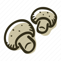 food, forest, meal, mushroom, soup icon