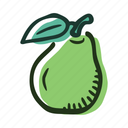 food, fruit, garden, healthy, pear, sweet, tree icon