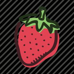 dessert, food, fruit, garden, healty, strawberry, sweet icon
