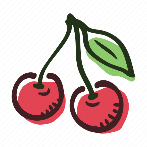cherry, dessert, food, fruit, healthy, sweet icon