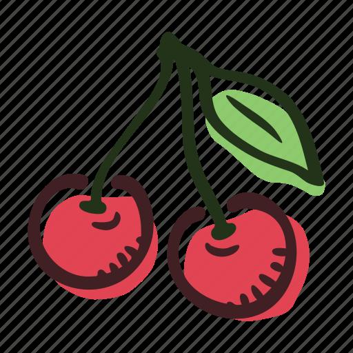 cherry, dessert, food, fruit, healthy, sweet icon