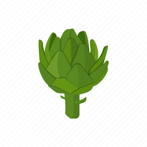 artichoke, food, plant, raw vegan, vegetable icon