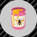 honey, jar