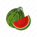 melon, sweet, watermelon icon