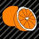 citrus, food, fruit, orange, oranges, produce icon