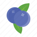 berry, food, fruits, nature icon