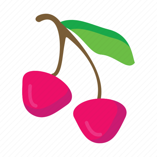 cherry, food, fruits, nature icon
