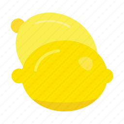 food, fruits, lemon, nature icon
