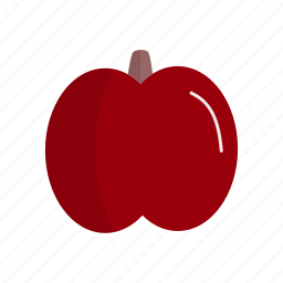 apple, dessert, fruit, fruits, ingridien icon
