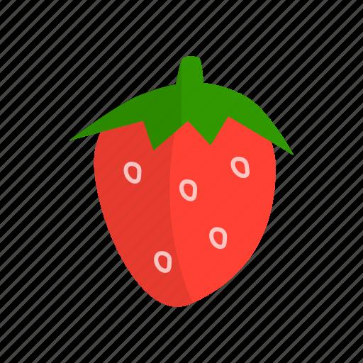 dessert, fruit, fruits, ingridien, strawberries icon