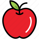 apple, fresh, fruit, healthy, natural, nature, organic icon