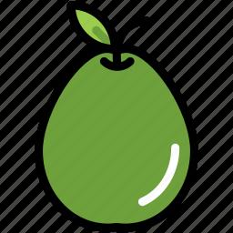 food, fresh, fruit, guava, healthy, organic, tropical icon