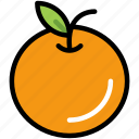 citrus, fresh, fruit, healthy, juicy, natural, orange icon