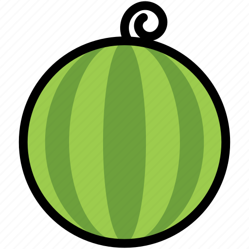 food, fresh, fruit, ripe, summer, tropical, watermelon icon