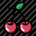 food, cherry, fruit, berry, fresh fruit