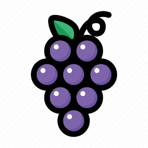 fruit, grape, grape fruit, grapes, wine icon