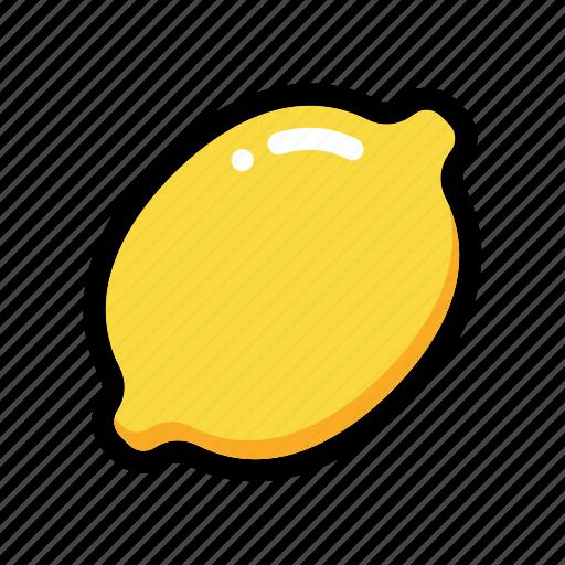 citrus, fruit, lemon, lemon fruit, lime icon