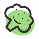 broccoli, food, healthy, ingredient, salad, soup, vegetables icon