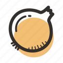 food, healthy, ingredient, onion, salad, soup, vegetables icon
