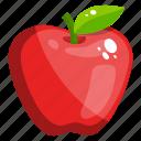 fruit, edible, fresh fruit, healthy food, apple, healthy diet icon