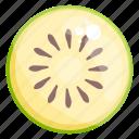 chinese gooseberry, edible, fresh fruit, fruit, healthy diet, healthy food, kiwi icon