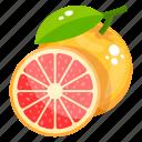 citrus, diet, food, fruit, grapefruit icon