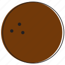 coconut, food, fruits icon