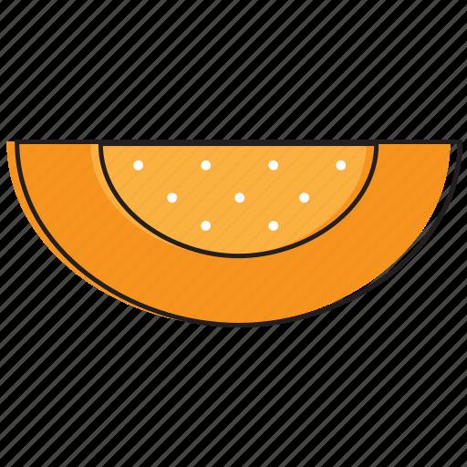 food, fruits, melon icon