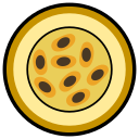 fruit, icon, maracuja, passion fruit, passion fruits icon