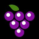 fruit, graps, uvas, grape icon