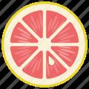 citrus fruit, food, grapefruit, healthy fruit, juicy fruit icon