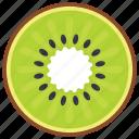 food, healthy fruit, kiwi, nutritious diet, summer fruit icon
