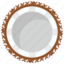 coconut, edible, food, healthy fruit, tropical fruit icon