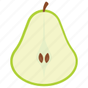 edible, food, fruit, healthy diet, pear icon