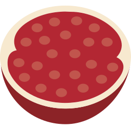 fruit, garnet icon