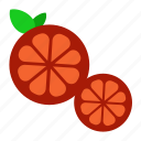 food, fruit, kitchen, orange, sweet, vegetable icon