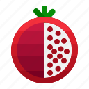 food, fruit, healthy, kitchen, pomegranate, restaurant, vegetable