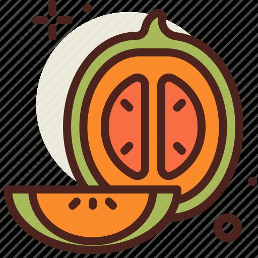 cantaloupe, food, fresh, healthy, juice icon