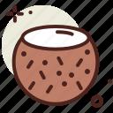 coconut, food, fresh, healthy, juice