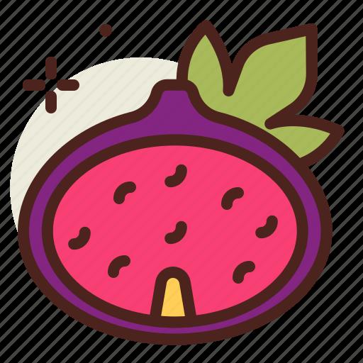 fig, food, fresh, healthy, juice icon