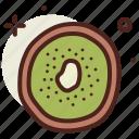 food, fresh, healthy, juice, kiwi icon
