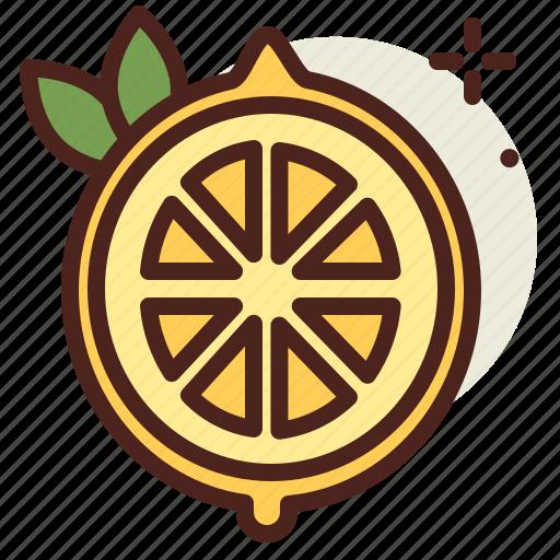 food, fresh, healthy, juice, lemon icon