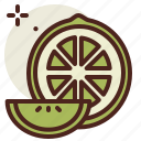 food, fresh, healthy, juice, lime icon