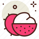 food, fresh, healthy, juice, lychee icon