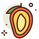 food, fresh, healthy, juice, mango icon