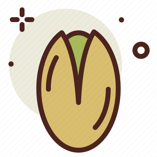 food, fresh, healthy, juice, pistachio icon