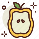 food, fresh, healthy, juice, quince icon