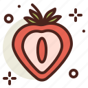 food, fresh, healthy, juice, strawberry icon