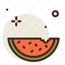 food, fresh, healthy, juice, watermellon icon