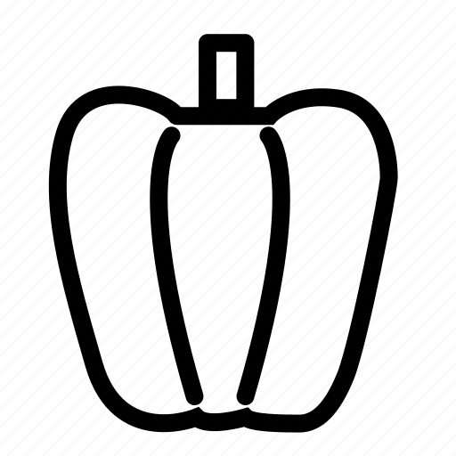 bell pepper, capsigam, food, pepper, vegetable, vegetables icon